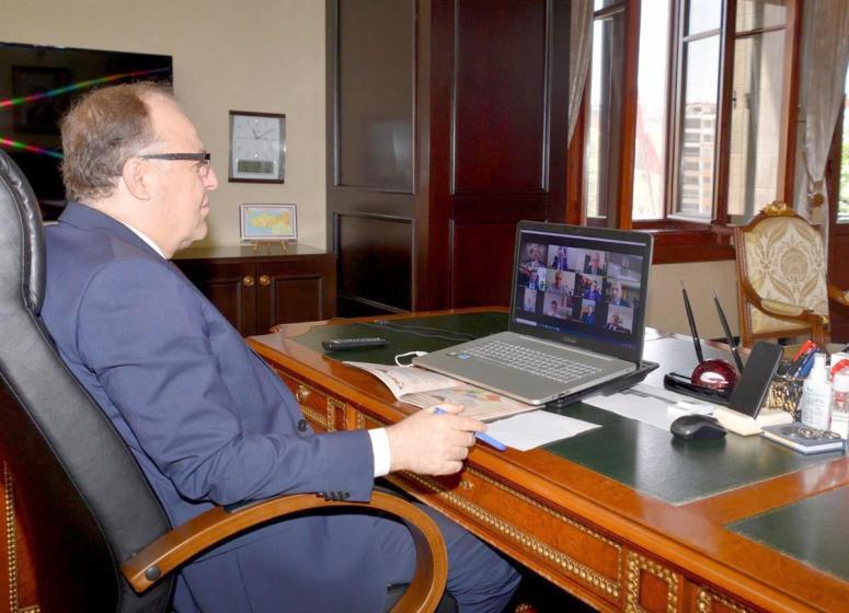 2020 Sevgi Yılı Projesi toplantısı video konferans yöntemiyle yapıldı