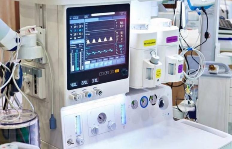 Solunum cihazları Devlet Hastanesi'ne teslim edildi