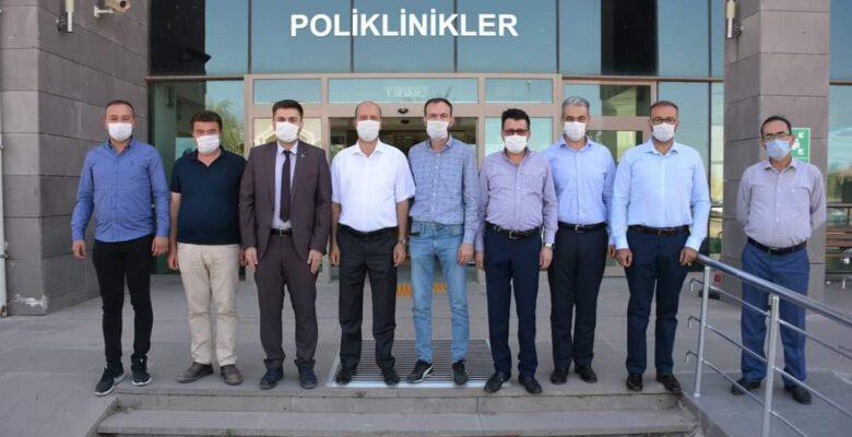 AK Parti Şuhut Heyetinden Şuhut Devlet Hastanesi'ne Ziyaret