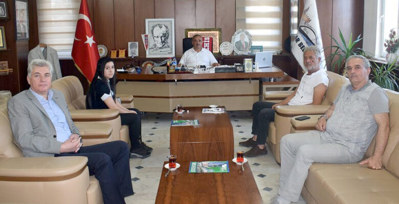 Afyonkarahisar OSB Yönetiminden, Başkan Şahin'e Ziyaret