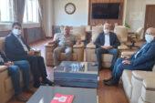Başkan Şahin, Uysal ile Birlikte İGM ziyarette Bulundular