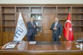Eroğlu, mezun olduğu İTÜ'yü ziyaret etti