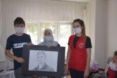 Gençler Şehit ailelerini ve Gazileri ziyaret etti