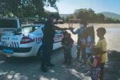 Jandarma piknikçilere yönelik Korona denetimi yaptı