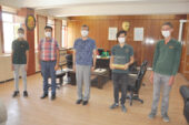 Öğrenciler yaptıkları sosyal mesafe cihazını Cumhurbaşkanı Erdoğan'a hediye edecek