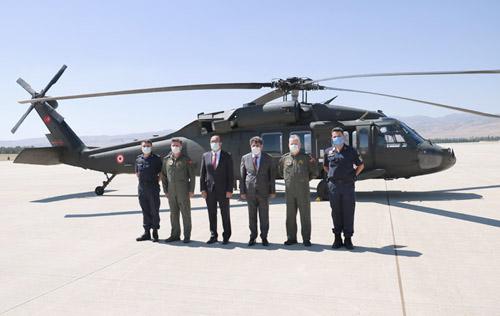 Tortop, Helikopter İle Havadan Takip Edilen Yol Kontrollerine Katıldı