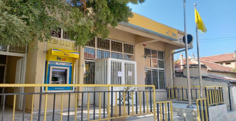 Virüs Günyüzü'ndeki PTT şubesini kapattırdı