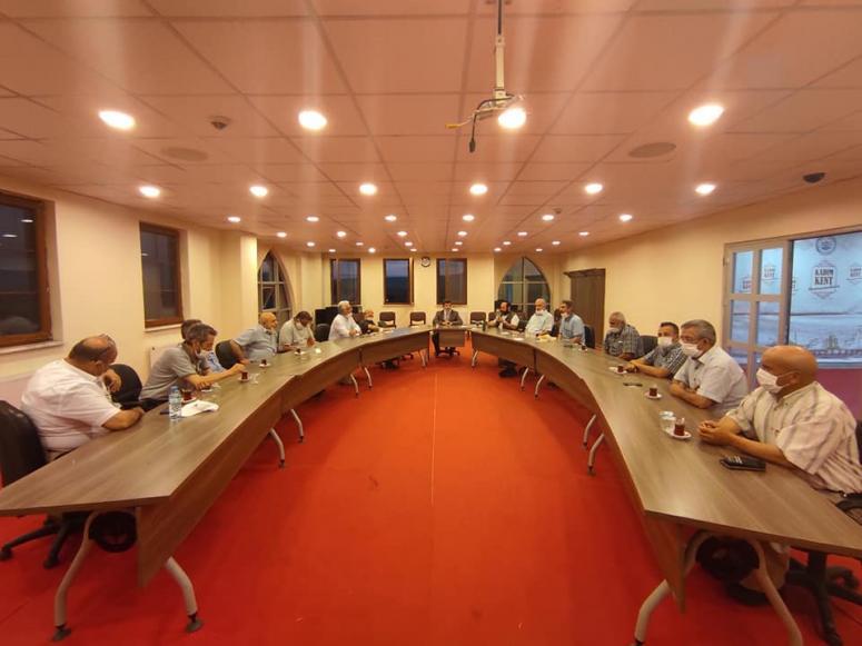 2020 Ramazan İftar Yardımlaşma Komitesi Toplandı