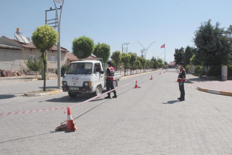 Afyonkarahisar'da iki mahallede başlatılan karantina genişletildi