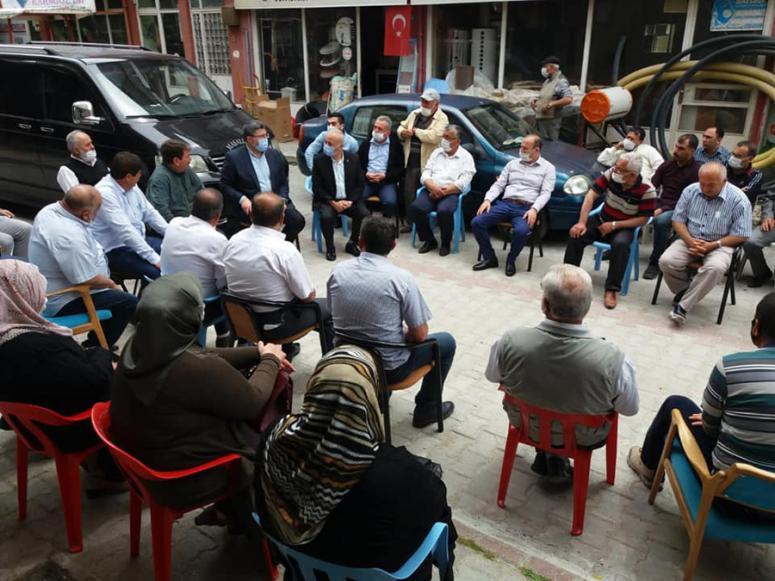AK Parti Afyonkarahisar Milletvekili Özkaya, Dinar'ı ziyaret etti