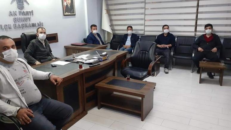 AK Parti Şuhut Yürütme ve Yönetim Kurulu Toplantısını Gerçekleştirdi
