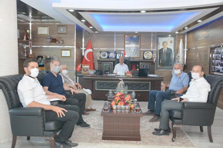 Başkan Bozkurt'a Gençlik ve Spor İl Müdürü Dereci'den ziyaret