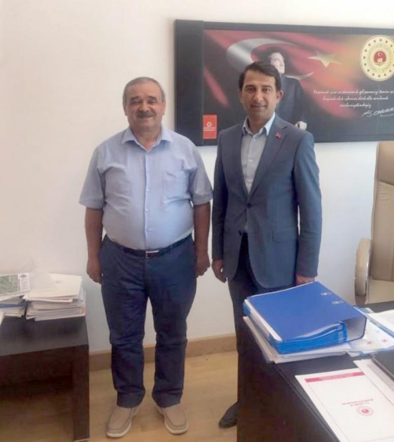 Başkan Şahin Ankara temasları