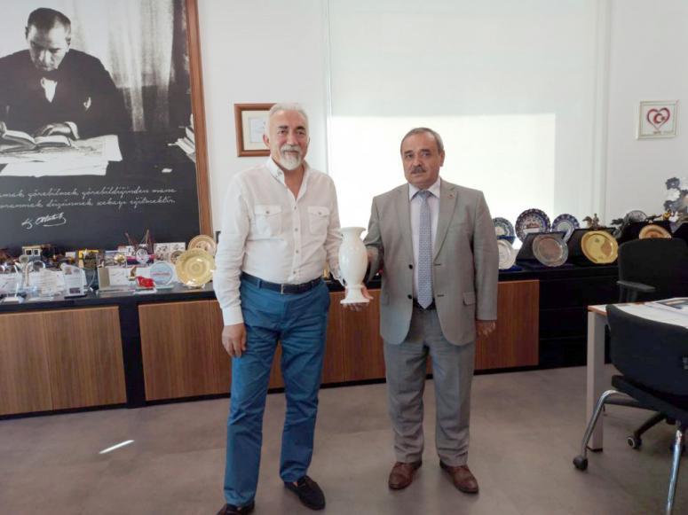 Başkan Şahin'den, Sarıyer Belediye Başkan Vekili Coşkun'a ziyaret