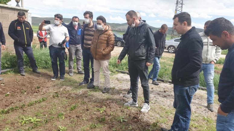 """""""Çiftçilerimize en büyük desteği AK Parti hükümetleri vermiştir"""""""