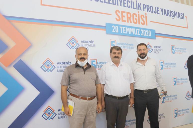 Dinar Akdeniz Belediyeler Birliği toplantısına katıldı