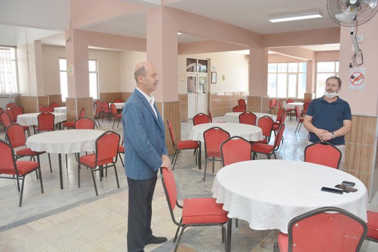 Düğün Salonlarının tadilatları tamamlandı