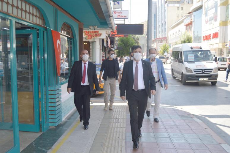 Emniyet Müdürü Ali temiz maske takmayanları uyardı
