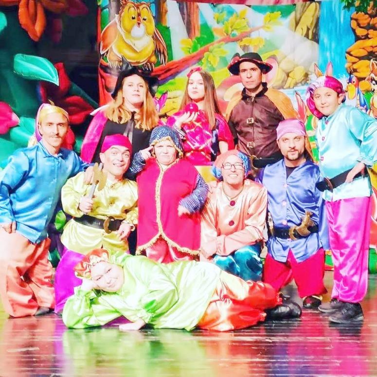 Ercan Kubaş Sanat Tiyatrosu sanata ara vermiyor