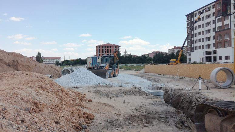 Eski Stadyum Alanı içme suyu ve kanalizasyon çalışmaları sona erdi