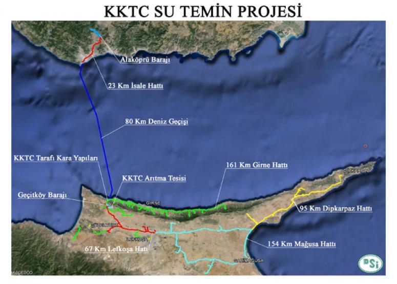 Türkiye'den KKTC'ye Can Suyu