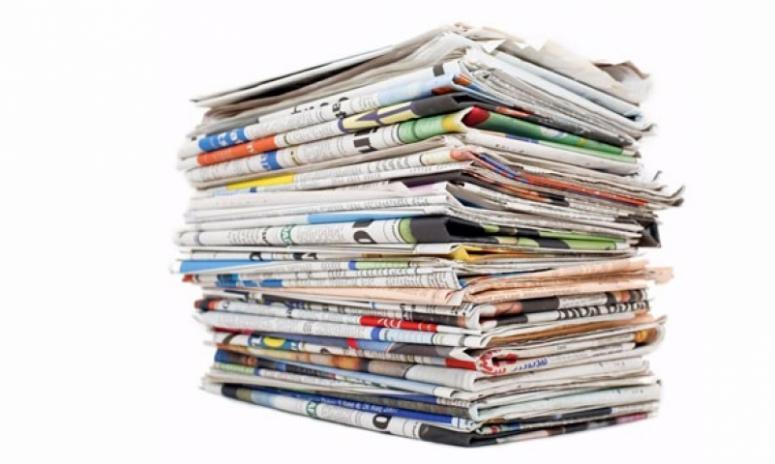 Gazete ve dergilerin yıllık tirajı yüzde 8,0 azaldı