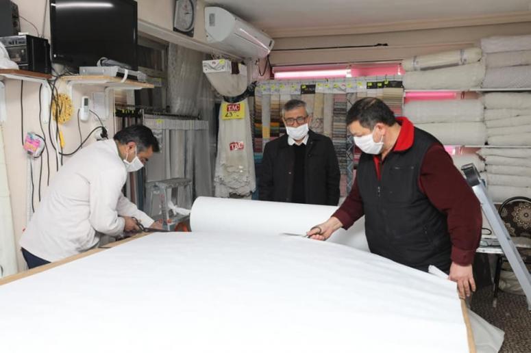 Halk eğitim merkezlerinde 60 bin maske üretildi