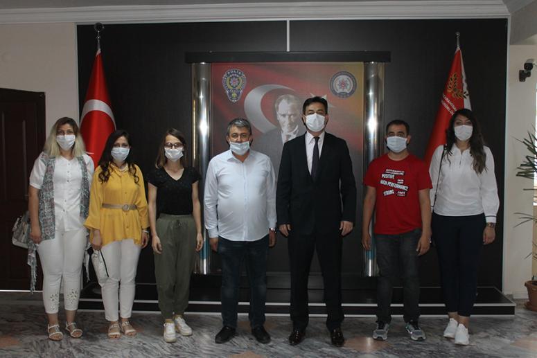 Hisar Gazetesi'nden Temiz'e ziyaret