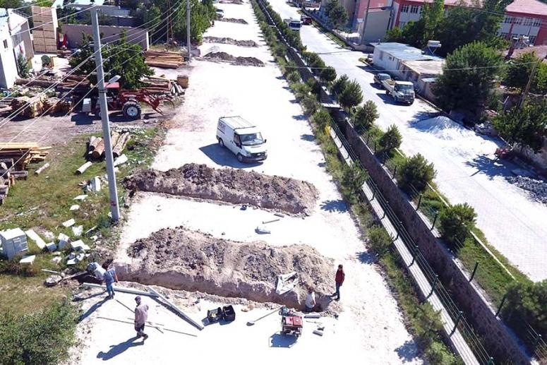 İscehisar Belediyesi çalışmalara ara vermiyor