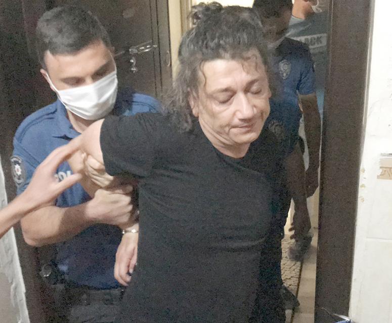 Kadının imdadına polis yetişti
