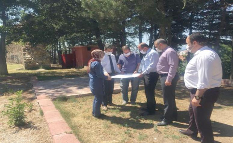 Sandıklı Belediye Başkanı Hisar Tepesinde Çalışmalarda Bulundu