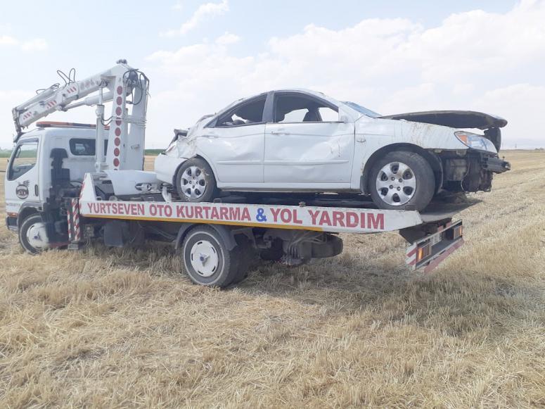 Sandıklı'da kaza: 1 yaralı