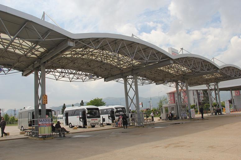 Şehirlerarası Otobüs Terminali çalışmaya başladı