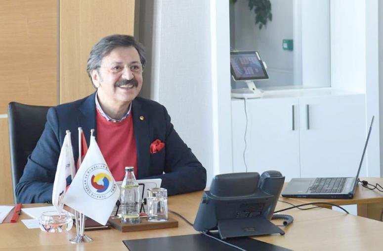 Serteser, Ticaret Ve Sanayi Odaları Konseyi Toplantısı'na katıldı