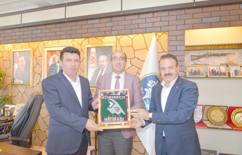 Şırnak'tan Sandıklı Belediyesi'ne ziyaret