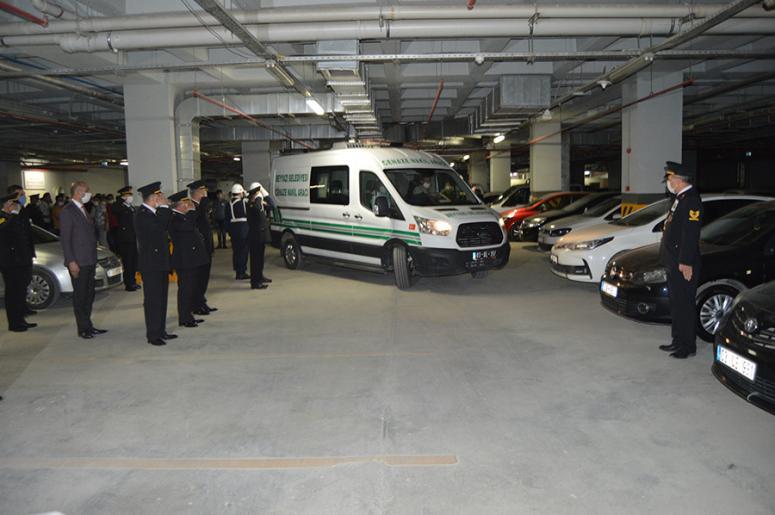 Tabancanın ateş alması sonucu vefat eden uzman çavuş için tören düzenlendi