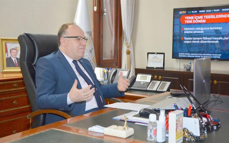 Termal oteller bölgesi işletme yetkilileri ile alınan tedbirleri istişare edildi