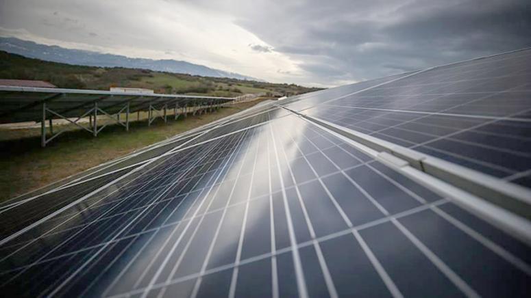 Güneş Enerji Santrali yapımı aralıksız devam ediyor