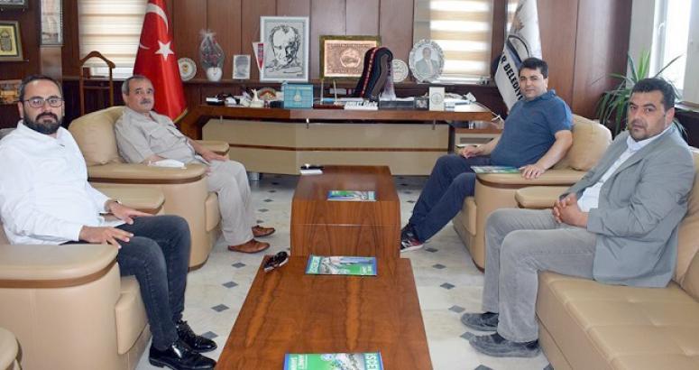 Uysal'dan İscehisar Belediye Başkanı Ahmet Şahin'e ziyaret