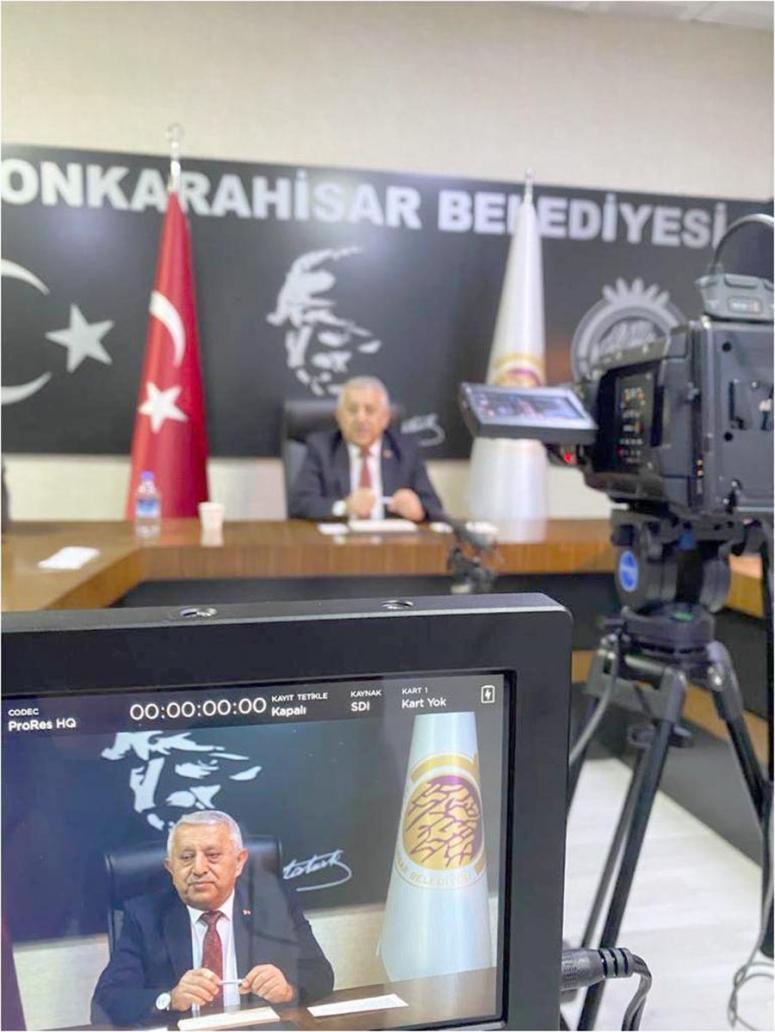 Başkan Zeybek görevde birinci yılını değerlendirdi