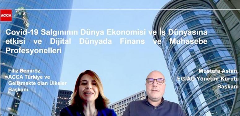 EGİAD Covid-19'un olası ekonomik senaryolarını değerlendirdi