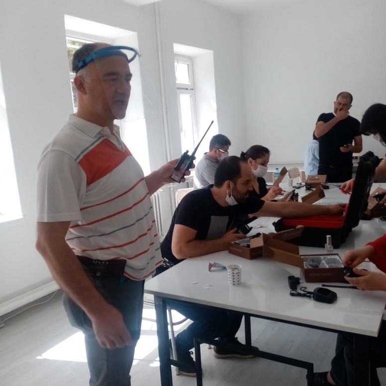 Afyonkarahisar Kendin Yap Projesi'nde eğitimler sürüyor