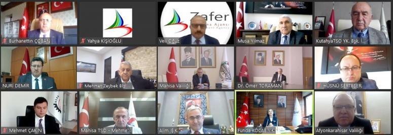 Zafer Kalkınma Ajansı 4. yönetim kurulu toplantısı yapıldı