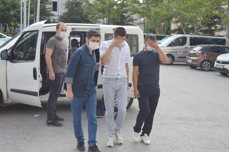 Ziynet eşyası çalan 7 şüpheliden 6'sı tutuklandı