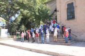 7 kentten 350 genç Afyonkarahisar'ı gezdi