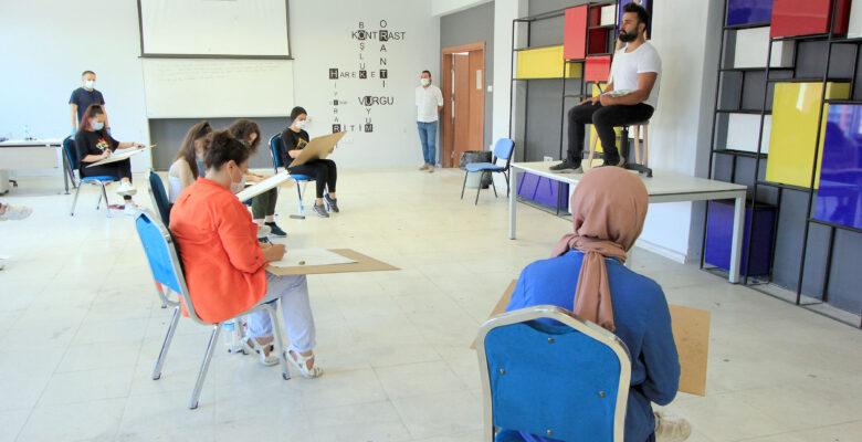 AKÜ Güzel Sanatlar Fakültesi Özel Yetenek Sınavları Başarıyla Tamamlandı