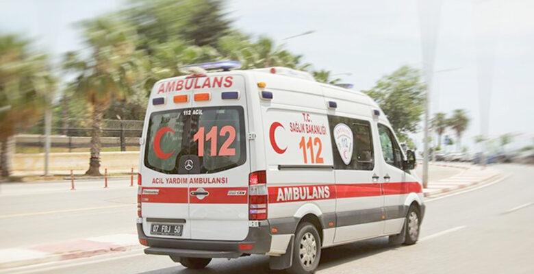 Afyonkarahisar'da Covid-19 hastaları ambulanslarla sınava getirildi