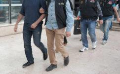 Antik kentte terör propagandası yapan 5 kişi gözaltına alındı
