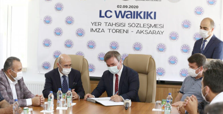 Aksaray'da 5 bin kişiyi istihdam edecek fabrika için arsa tahsisi yapıldı