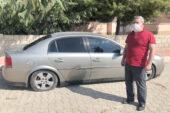 Aracını Feci halde gören adam çareyi poliste aradı